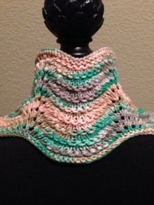 Brittany Cowl - back view