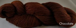 Chocolate skein